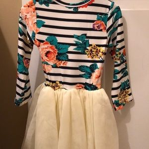 Dresses - Autumn themed first birthday dress